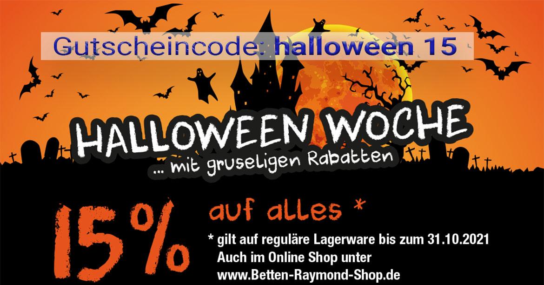 Gutscheincode: halloween15